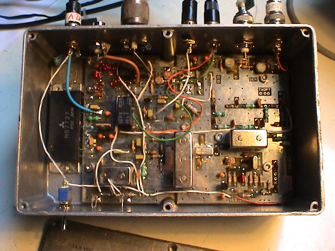 DF6NA: The DEM 28/144MHz Transverter - HamRadio, Microwave, 10GHz